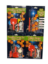 Loftus Halloween Jack-o-Lantern Pumpkin Carving Stencil Book Kit w/ Tools