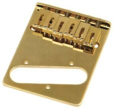 Gotoh GTC-202G-L Tele® Style Electric Guitar Bridge Gold - Left Hand