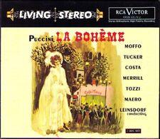 PUCCINI: LA BOHEME Anna Moffo Richard Tucker LEINSDORF RCA Living Stereo 2CD