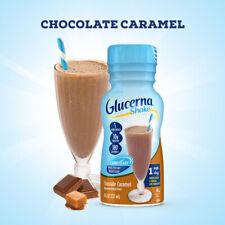 Glucerna Chocolate Caramel shake Meal Replacement 8 oz ( Pack of 6 )