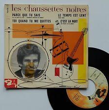 """Vinyle 45T Les Chaussettes Noires (Eddy Mitchell)   """"Parce que tu sais"""""""