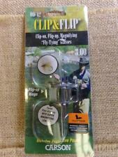 Carson Clip-and-Flip 1.75x Power Magnifying Lens +3.00 Diopters Od-12 Nip