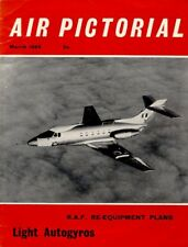 AIR PICTORIAL 3/65 RAF VICKERS VALIANT_BREGUET 14_HS.125 DOMINIE_HAWKER NIMROD