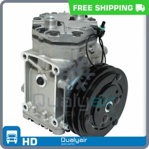 New York Type A/C Compressor Replaces: ET210L-25073C Peterbilt, Kenworth UQ