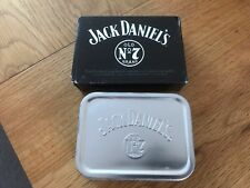 Brand New & Boxed Jack Daniels Playing Cards In Silver Tobacco Tin