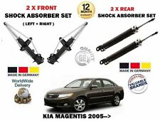 FOR KIA MAGENTIS 2005-> NEW 2 X FRONT + 2 X REAR SHOCK ABSORBER SHOCKERS SET