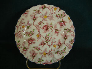 Copeland Spode Rosebud Chintz Bread and Butter Plate(s)