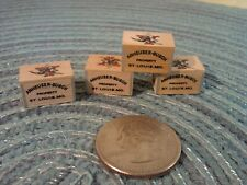 DANBURY MINT BUDWEISER WOOD CASES..LOT OF 4..NEW..GREAT FOR DIORAMA