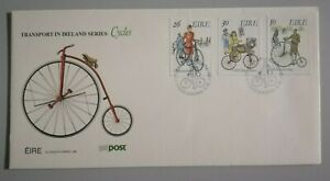 FDC Ireland 1991 - Cydes (3v Stamps Cover)