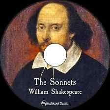 The Sonnets of William Shakespeare - Unabridged MP3 CD Audiobook in paper sleeve