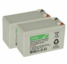 Lucas 12V 7AH Lead Acid Rechargeable Battery