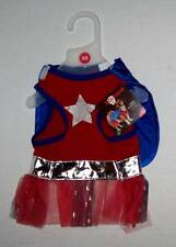 Super Woofette Superhero Girl dog Costume XS