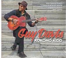 Guy Davis ft. C. Musselwhite, F. Poggi, & Ben Jaffe, Kokomo Kidd; 13 track CD