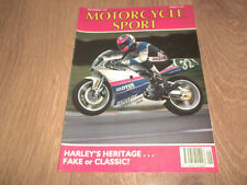July Motorcycle Sport Monthly Transportation Magazines