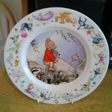Wedgwood Rupert The Bear Porcelain Plate Scene From 1969 Annual By A Bestall MBE