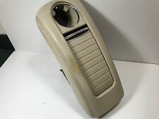 05-09 Mercedes W209 CLK350 CLK500 CLK550 CLK Center Console Arm Cup Holder Tan O