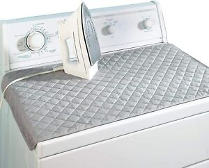 IRON ANYWHERE MAGNETIC QUILTED SHEET FOLDABLE TRAVEL SIZE IRONING MAT LAUNDRY