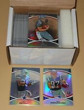 2010 Topps Finest Refractors Complete Parallel Set of Cards 1-125 MINT!