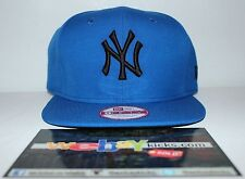 New Era New York Yankees Royal Blue Black Foamposite One Snapback Cap Hat New