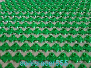 10 Lego Blätter Laub 2417 groß dunkelgrün Grünzeug Planzenblätter NEU