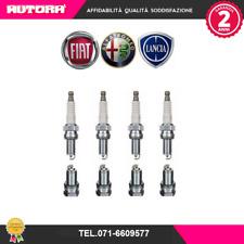 55188857 4 Candele accensione Fiat-Lancia 1.2-1.4 (SCATOLA ORIGINALE FIAT)