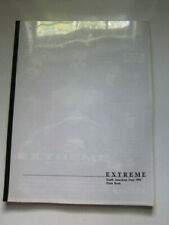 Extreme South American Tour 1992 Press book