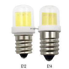 E12 C7/ E14 E14S Mini LED Bulb Lamp 4W COB 1511 Ceramics Glass Light 110V/220V