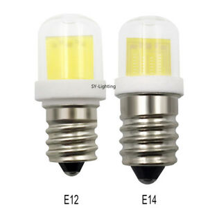 E12 C7/ E14 E14S Mini LED Bulb Lamp 4W COB 1511 Ceramics Glass Light 110V/220V