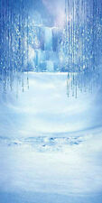 Frozen Waterfall 10'x20' CP Backdrop Computer printed Scenic Background XLX-699