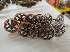 Lot of 10 French Provincial Filigree Cabinet Knob Drawer Pull copper brass japan