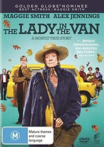 DVD THE LADY IN THE VAN 2016 MAGGIE SMITH  BRAND NEW UNSEALED REGION 4 FAST POST