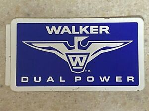 Walker Enterprises Dual Power Decal