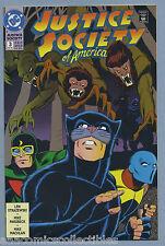 Justice Society of America #3 1992 Len Strazewski Mike Parobeck Dc Comics