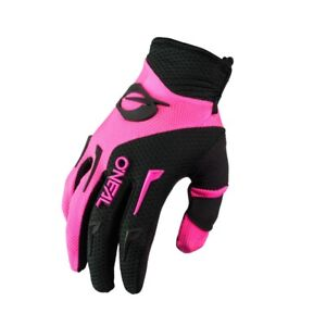 Oneal 2021 Womens Element Gloves - Black/Pink E031-7