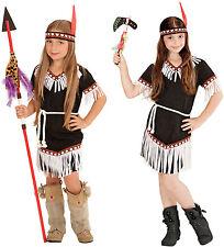 Widmann Costume da Squaw 'indiana' in Taglia 8/10 anni Giocattolo