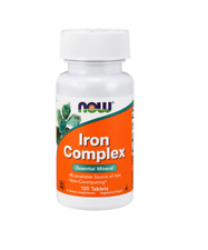 Now Foods Iron Complex, 100 Tablets