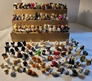 VTG Puppy In My Pocket Lot of 170+ MEG Hasbro Flocked Puppy Kitty Jungle Pets