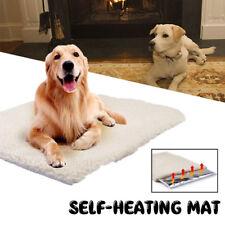 XL Self Heating Pad Pet Dog Mat Bed Pad Soft Indoor Warming Thermal Mat Washable