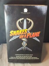 Snakes On A Plane Novelization Signed By CHRISTA FAUST 1st Ed Paperback Original