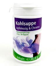 Kohlsuppe + Apfelessig + Chrom - 50 Kapseln | Kohlsuppenkapseln