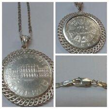 1 Collier 925 argent avec pendentif pièce münzanhänger Viennois échange