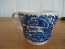 COLLECTABLE VINTAGE BLUE WILLOW CHINA TEA  CUP MADE IN ENGLAND