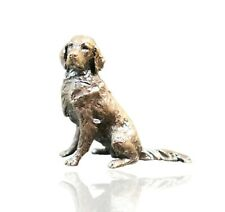 Bronze Retriever Dog Sitting - Butler & Peach 2087