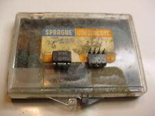 Sprague Uln2283B 8Pin Dip Ic 42db Low Power AudioAmp, Short circuit proof 3-15V.