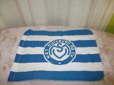 """MSV Duisburg Originale kleine Fahne/Flagge 70iger Jahre """"MSV Duisburg Wappen"""""""