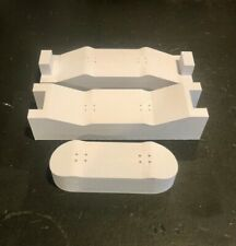 Strong DIY 34mm wooden decks Fingerboard Mold With Shaper and 3d Printed deck