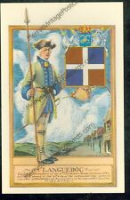 Captain of Grenadiers, Fort Carillon 1758 (notmailedpost card,(MY#924