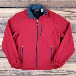 Black Diamond Men's XL Double Diamond Fleece Lined Stretch Softshell Ski Jacket