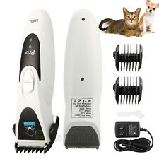 New Professional Grooming Kit Animal Pet Cat Dog Hair Trimmer Clipper Shaver Set