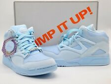 "New Reebok 7 Deadly Sins ""Sloth"" Pump Omni Lite Light Azure/Aviator Blue Rare 9"